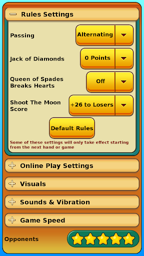Hearts 1.47 Screenshots 15