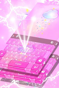 Pink Keyboard Free 2017 Theme - náhled