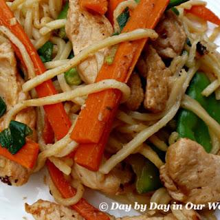 Chicken Lo Mein.