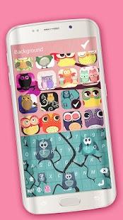 Sova Obrázky Klávesnice Emoji - náhled
