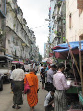 Photo: Year 2 Day 60 - A Street in Yangon