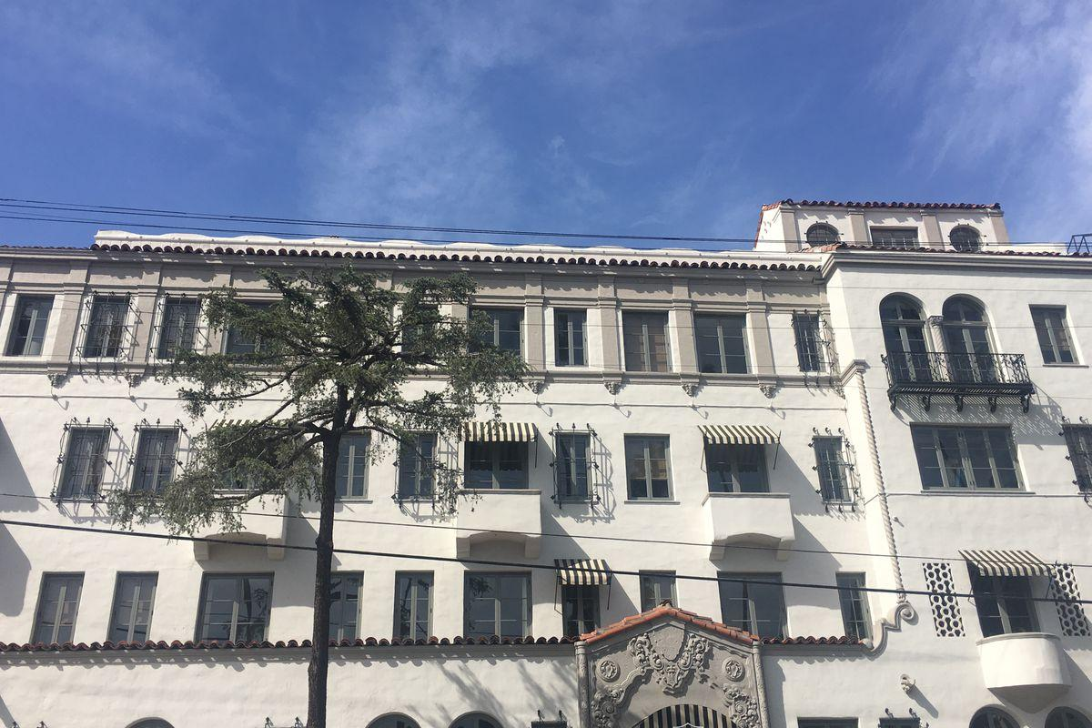 Adaptive Reuse in Los Angeles:  The Villa Carlotta in Hollywood