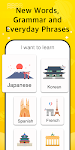 screenshot of Learn Korean, Learn Japanese, Chinese - LingoDeer