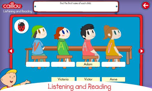Descargar Caillou learning for kids para PC ✔️ (Windows 10/8/7 o Mac) 4