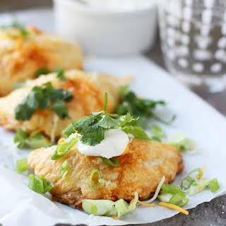 Chicken Enchilada Empanadas.