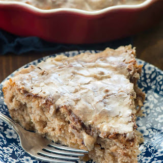 Easy Apple Fritter Coffee Cake
