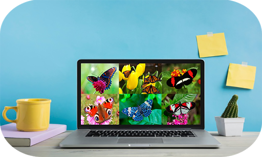 Butterfly Puzzle Jigsaw (Rompecabezas de mariposa) android2mod screenshots 5