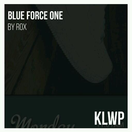 Blue Force One for KLWP