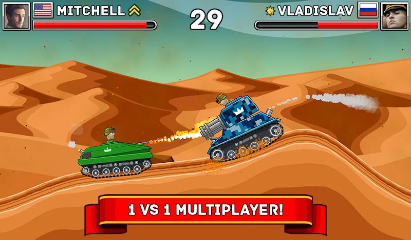 Hills of Steel Screenshot 10