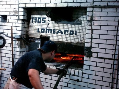The coal-fired over at Lombardi's.
