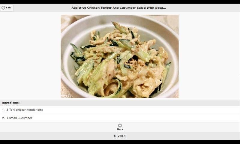 android Chicken Recipes 1 Screenshot 0