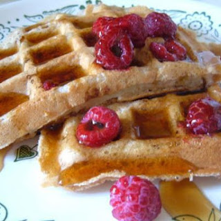 Easy, Basic Waffles in the Morning