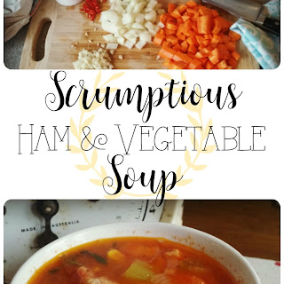 Scrumptious Left Over Ham and Vegetable Soup.