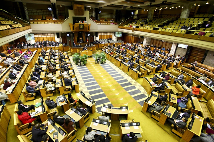 Parliament says it would prefer not to respond to damaging statements made following the funeral service of a parliamentary manager, who is said to have killed himself as a result of alleged bullying.