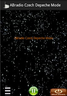 ABradio Czech Depeche Mode- screenshot thumbnail