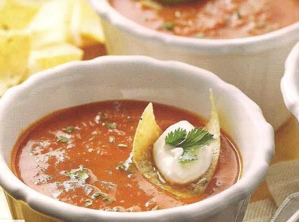 Tomato Chipotle Soup Recipe