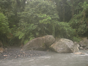 Photo: Rainy river crossing