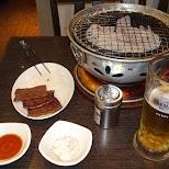 wagyu dinner in Nakano in Tokyo, Tokyo, Japan