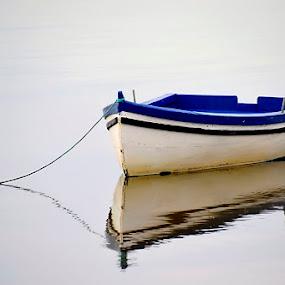 Twins by Eugénio Buchinho - Transportation Boats ( reflex., boat )