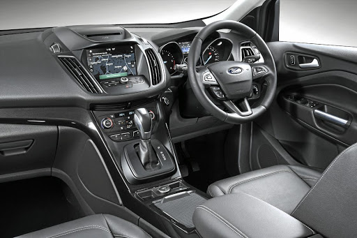 The interior is spacious and comfortable and the level of standard equipment is superb.