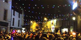 Lights go on tonight and Christmas Fair tomorrow