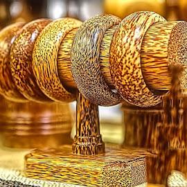 BRACELETS WOOD by Fammz Fammudin - Artistic Objects Clothing & Accessories ( wood, artistic, accessories )