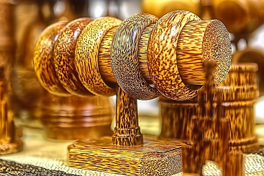 BRACELETS WOOD by Fammz Fammudin - Artistic Objects Clothing & Accessories ( wood, artistic, accessories )