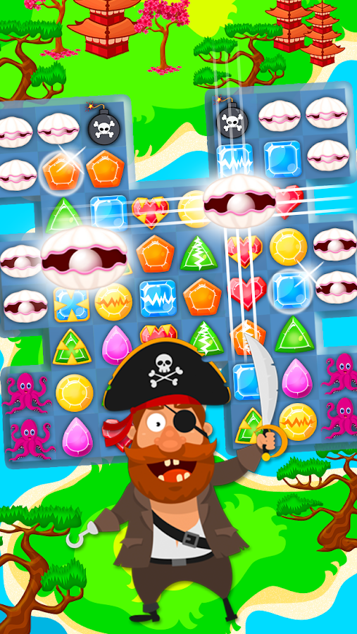 Sea Pirate: Match-3- screenshot