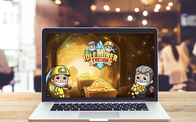 Idle Miner Tycoon HD Wallpapers New Tab Theme