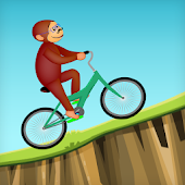 Curious Biking Monkey