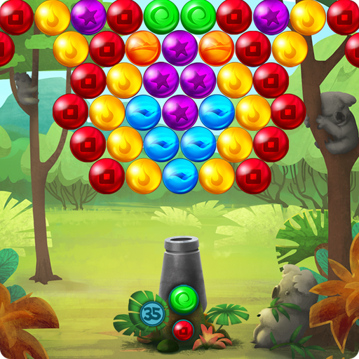 Koala Pop Bubble Shooter 休閒 LOGO-玩APPs