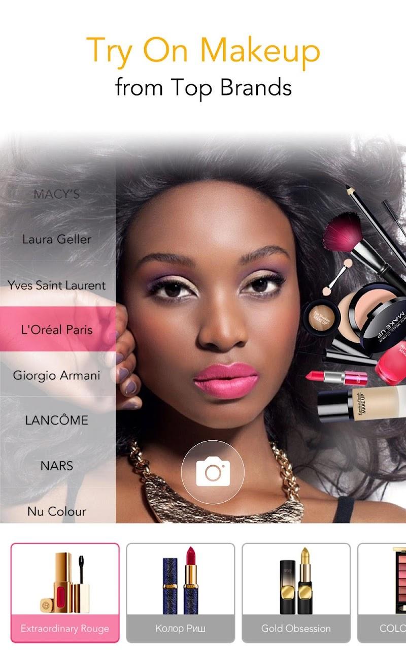 YouCam Makeup - Magic Selfie Makeovers Screenshot 2
