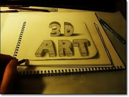 Impressive 3D Drawings Ideas - náhled