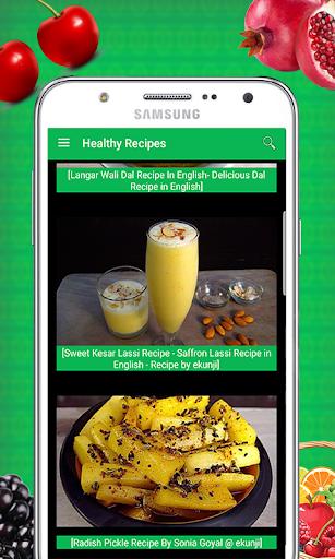 Tasty Healthy Recipes 1.0 screenshots 3