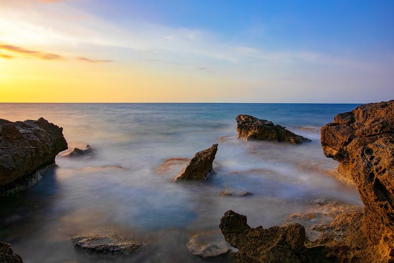 Tramonto al mare di Barcarello di dario_mentesana