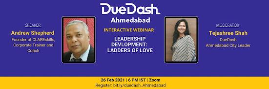 DueDash Ahmedabad - Leadership Development: Ladders Of Love