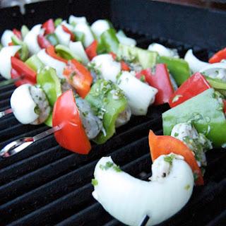 Tequila- Lime Shrimp Kebabs