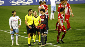 El Almería vencía al Zaragoza 1-2 el pasado 3 de abril.