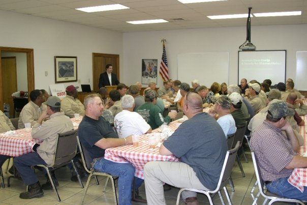 Photo: ACRE luncheon in McIntosh, Alabama
