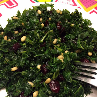 Kale Salad Recipe With Pine Nuts And Cranberries