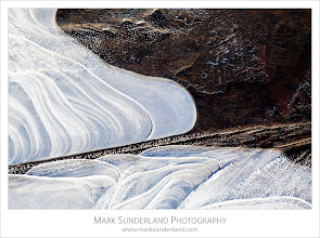 Photo: Ice Patterns  Here's another shot of the ice patterns from the shoot in Nidderdale last week. I love the way that this image has almost no sense of scale...  Canon EOS 5D MkII,EF70-200mm f/4L USM at 200mm, ISO 100, 0.8s at f22