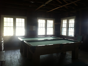 Photo: Inside the Boat House, top floor.