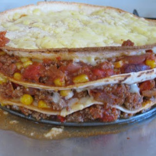 Mexican Tortilla Pie.