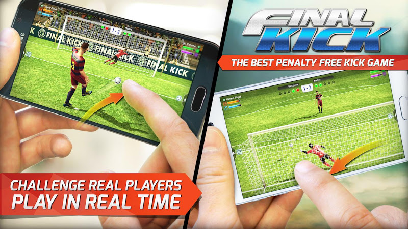 Final kick: Online football v5.3 (Mod Money/Vip/Ads-Free)