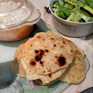 Quick & Easy Indian Flatbread (Roti).