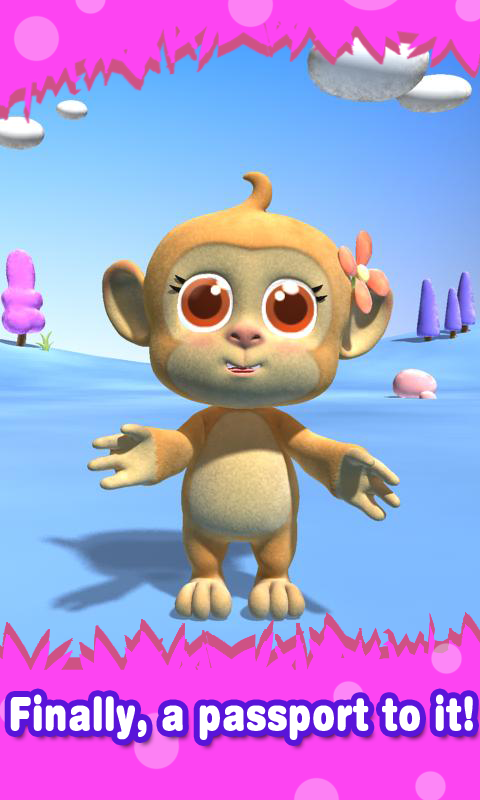 Talking Monkey- screenshot