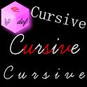 Cursive Converter icon