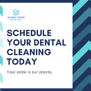 Schedule your dental cleaning today
