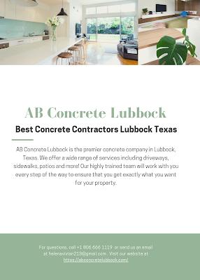 Concrete Lubbock