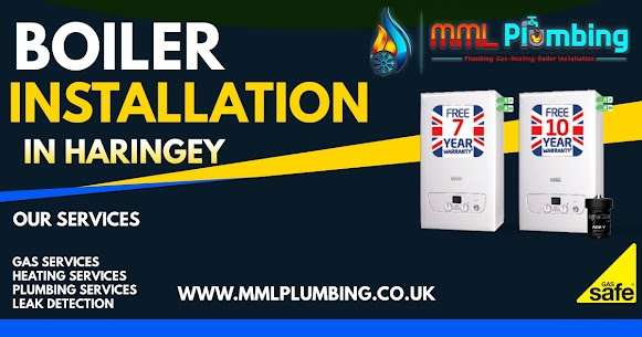 boiler installation in Haringey